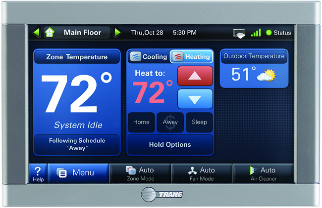 HVAC Zone Control Thermostat